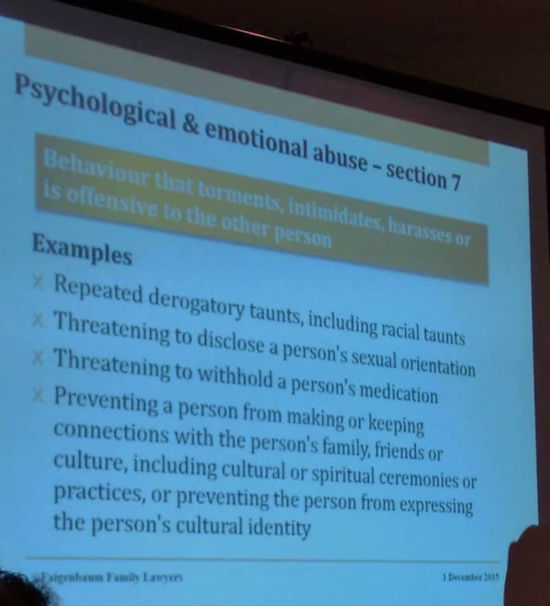 articles on psychological abuse