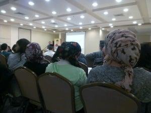 Goldwasser at Beit Shemesh anti-abuse event.