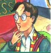 Harry's illustrated image on the cover of Harr...