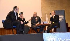 Rabbi Dr. Meir Soloveichik, Esti Rosenberg, President Joel, Rabbi Assaf Bednarsh
