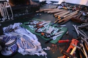 weapons gaza flotilla